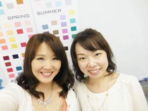 海保麻里子 サンケイリビング新聞社 ICD認証パーソナルカラーレッスン