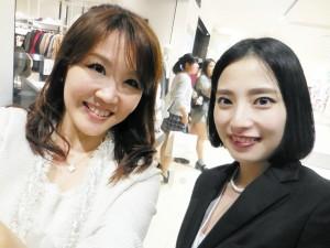 海保麻里子 ららぽーと東京ベイ パーソナルカラー診断イベント