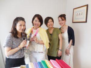 東京・青山のパーソナルカラースクール サロン・ド・ルミエール 無料パーソナルカラー診断イベント