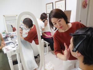 東京 青山のパーソナルカラー診断&メイクアップスクール サロン・ド・ルミエール
