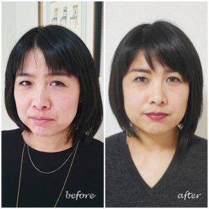 東京・青山、パーソナルカラー診断&骨格スタイル診断、メイクアップレッスン