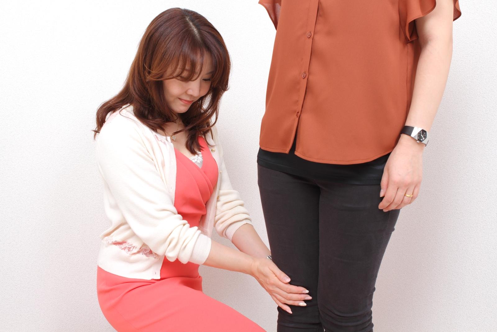 東京・青山、千葉のパーソナルカラー診断、メイクアップレッスン、骨格スタイル診断ならサロン・ド・ルミエール。骨格スタイル診断手順