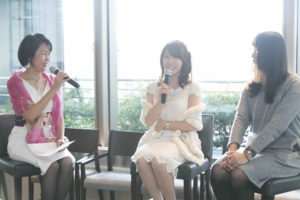 海保麻里子 初出版記念パーティー トークショー