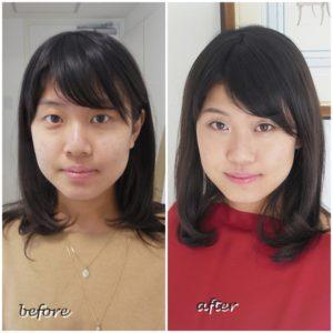 サロン・ド・ルミエール 劇的 before & after