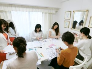 東京・青山のカラースクールならサロン・ド・ルミエール パーソナルカラーアナリスト養成講座