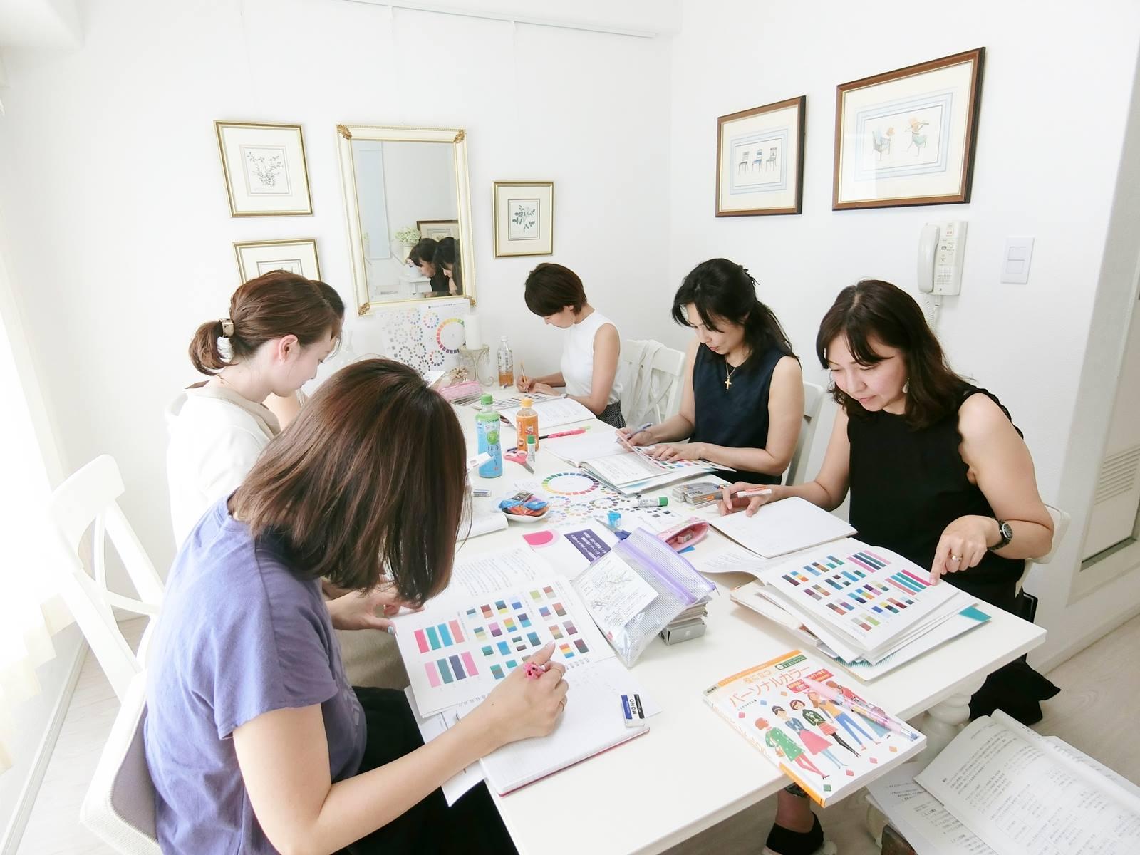サロン・ド・ルミエール主催 色彩技能パーソナルカラー検定モジュール2対策講座
