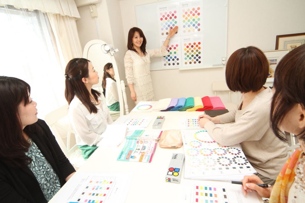 仕事になるためのスキルを学べる!東京・青山のパーソナルカラー&メイクアップスクール サロン・ド・ルミエール