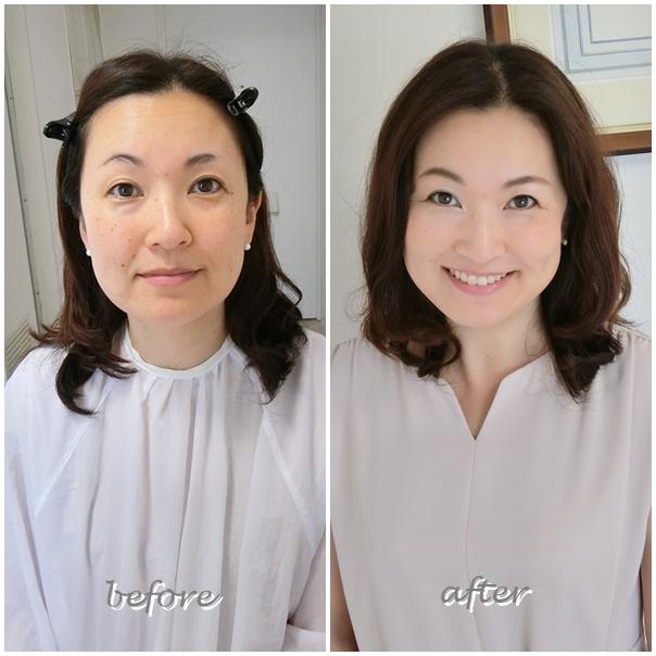 パーソナルカラー診断、骨格診断、メイクアップレッスンなら東京・南青山のサロン・ド・ルミエール。劇的before & after