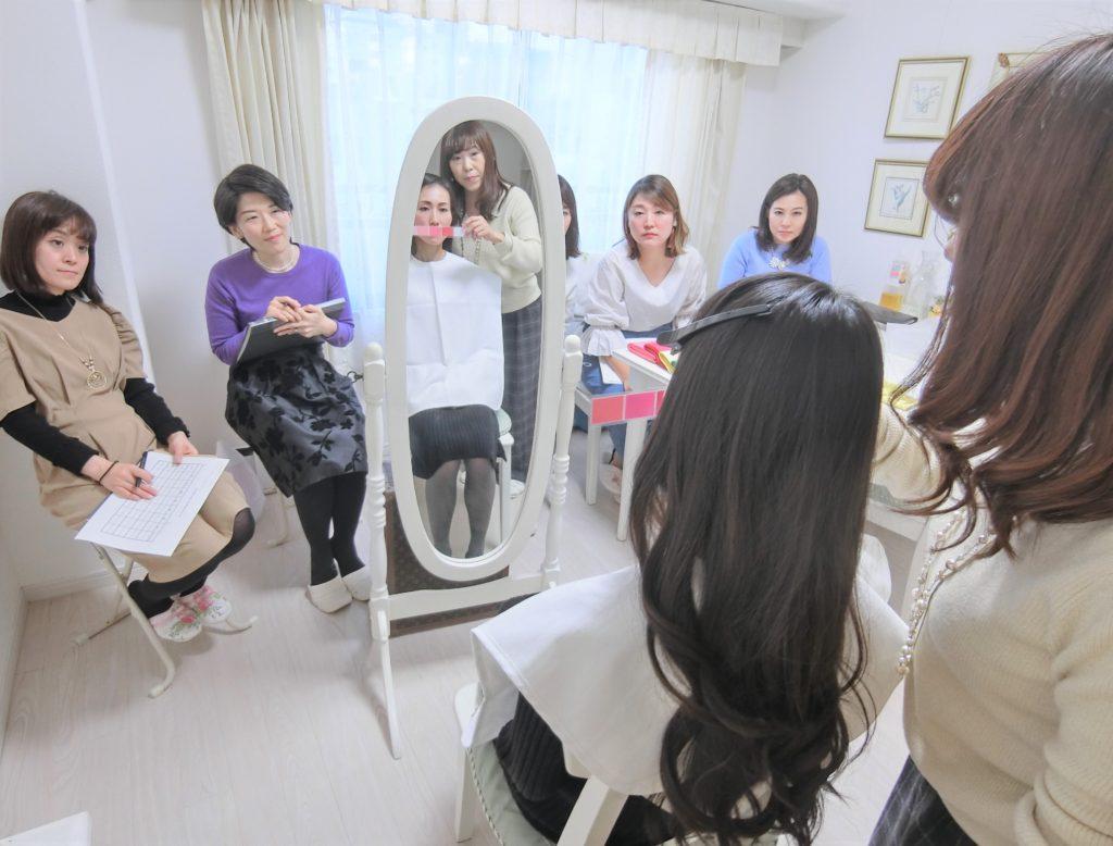 東京・青山のパーソナルカラー診断&骨格診断、メイクアップレッスンならサロン・ド・ルミエール パーソナルカラーアナリスト養成講座