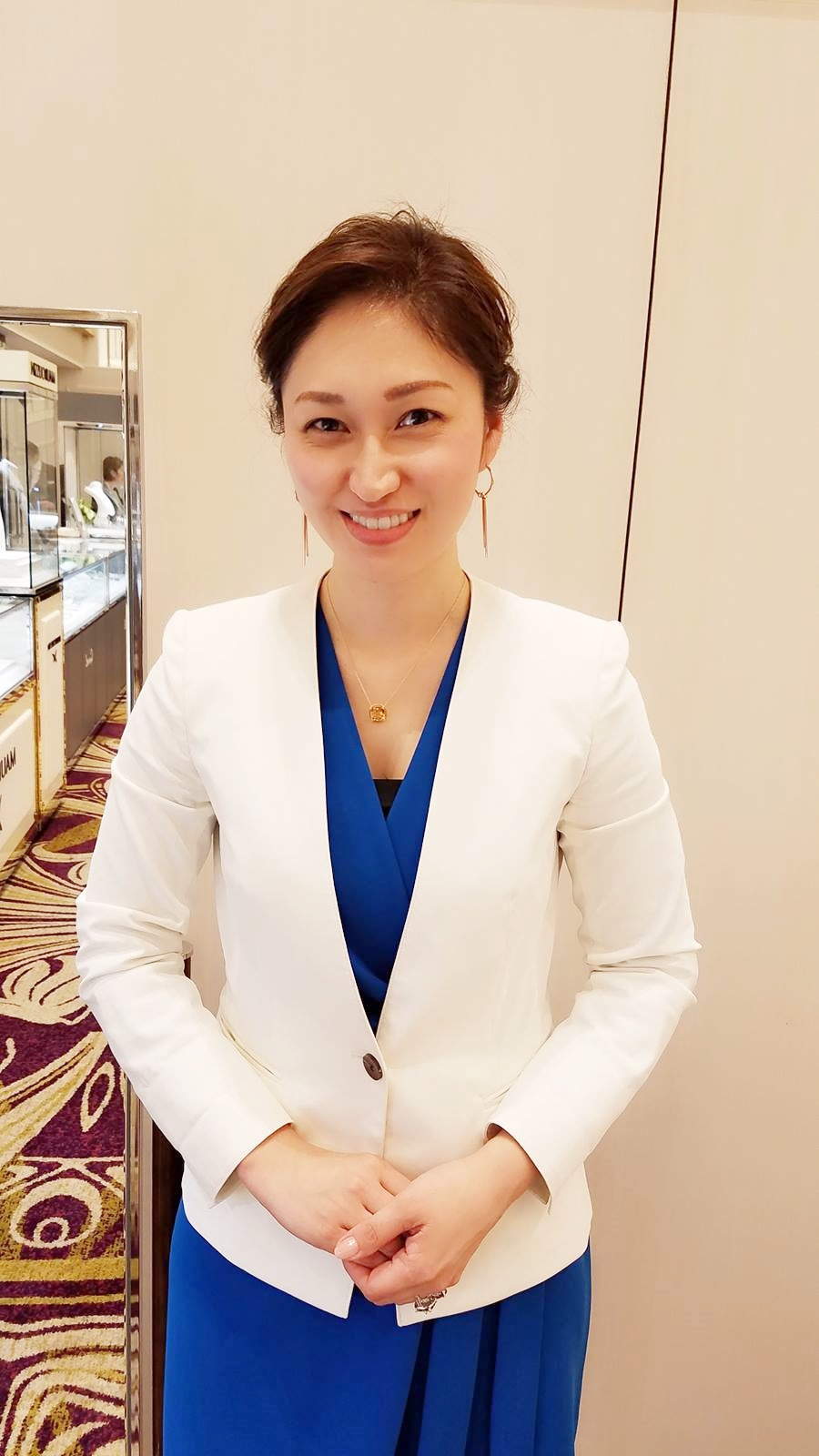 神戸大丸店パーソナルカラー診断イベント イン ホテルモントレ姫路