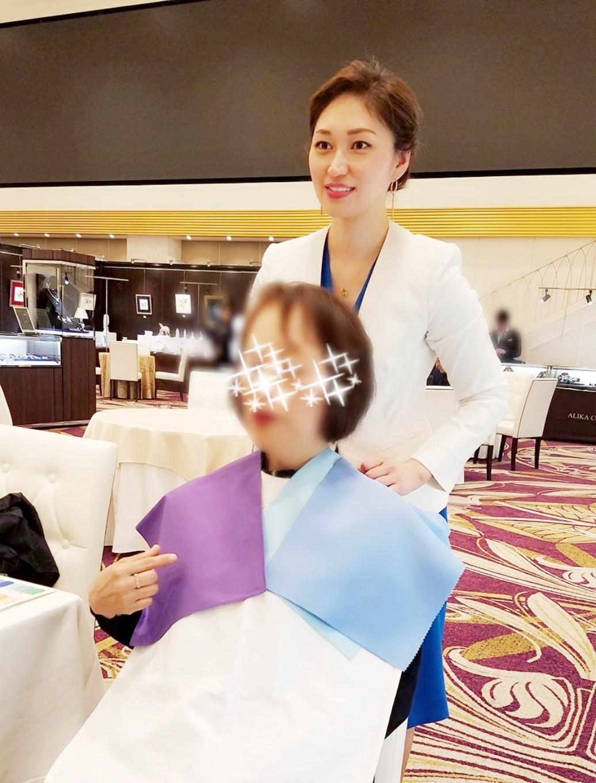 パーソナルカラー診断イベント イン モーブッサンジャパン神戸大丸店