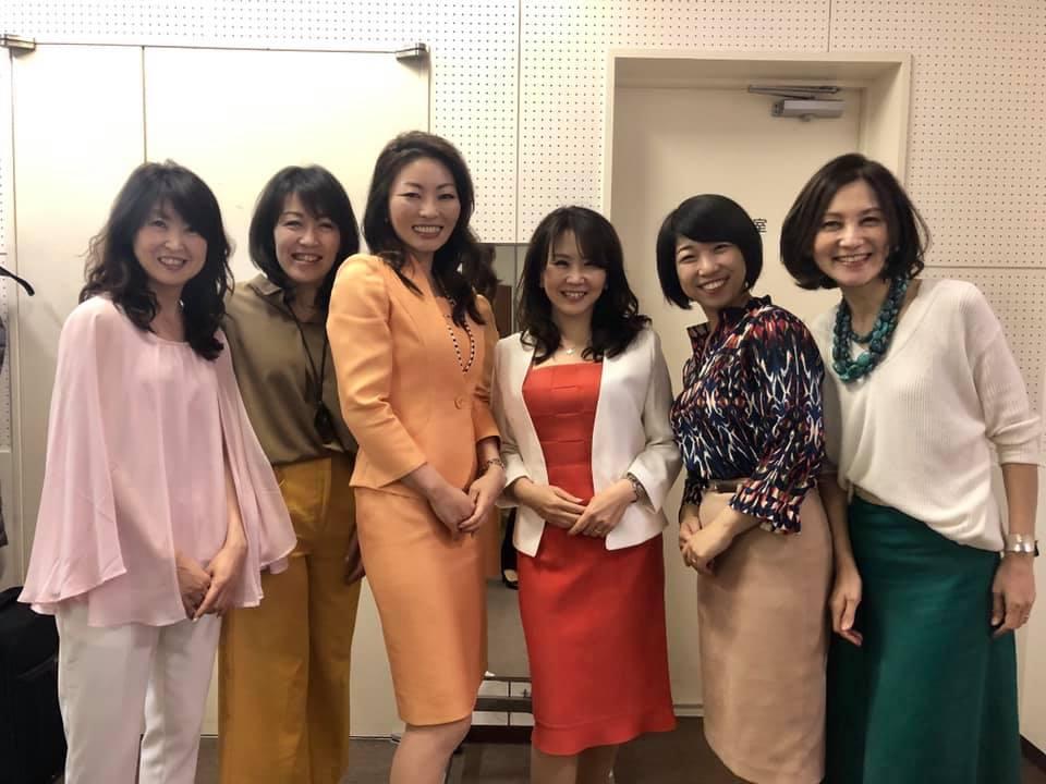 繊研新聞様主催パーソナルカラーセミナー講師 海保麻里子