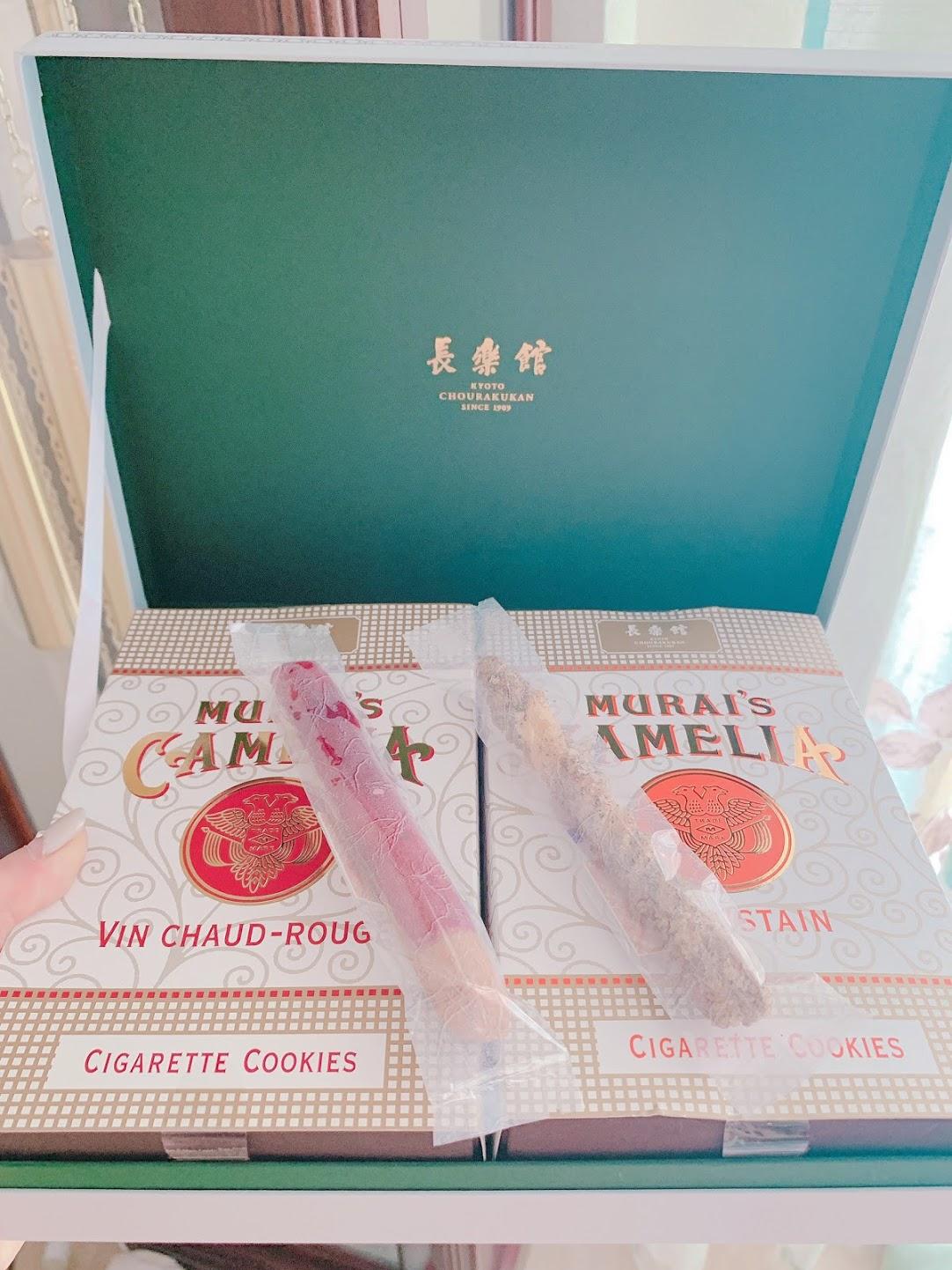 長楽館は元々は煙草王が建てた迎賓館だったのだとか🚬 頂いたお土産もシガレット風のクッキーで洒落てました🍪.
