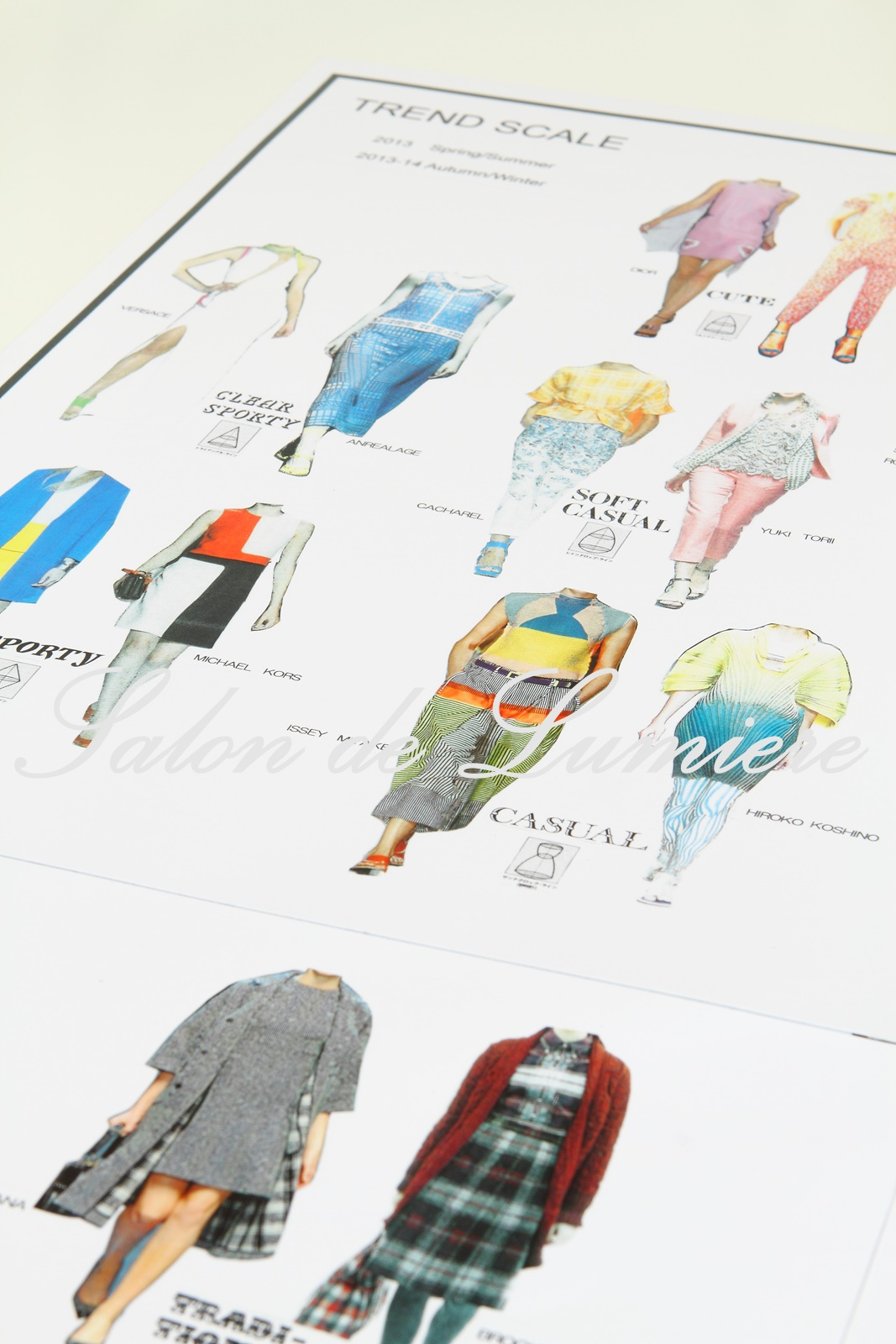22タイプファッションテイストスケール 東京・青山のパーソナルカラー診断、メイクアップレッスン、骨格診断、顔診断(22タイプテイストファッションスケール)なら海保麻里子のサロン・ド・ルミエール