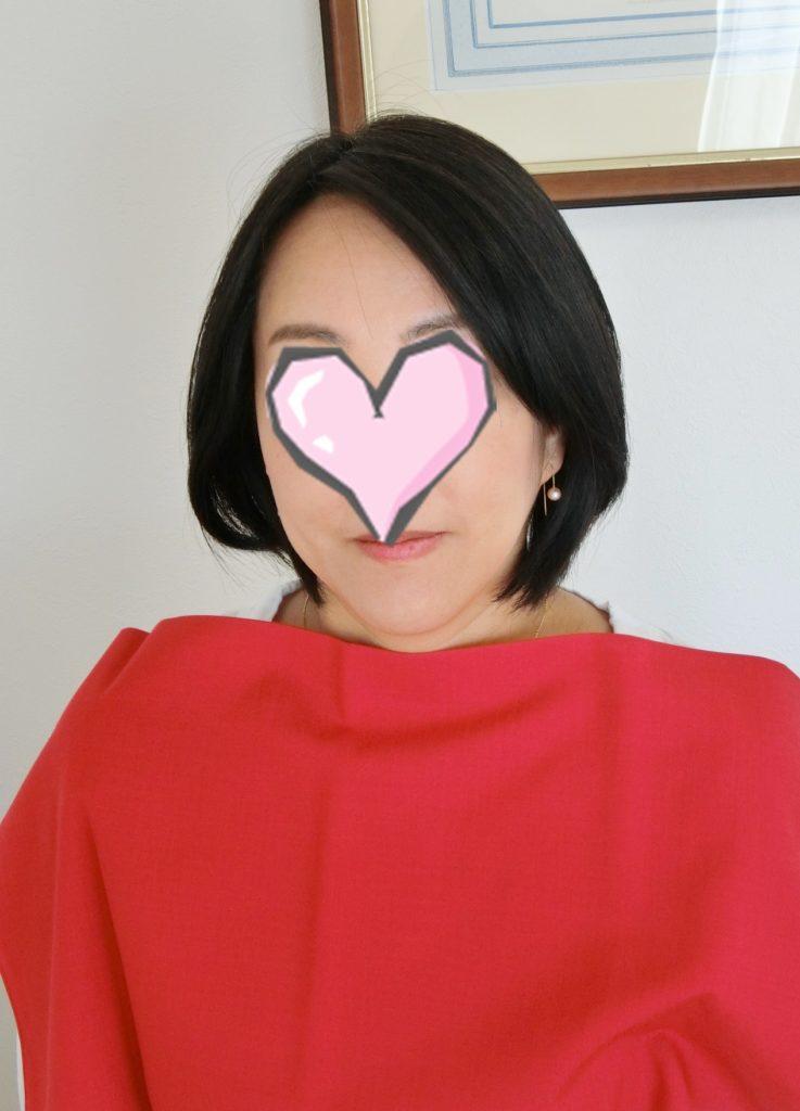東京・青山のパーソナルカラー診断、メイクレッスンのサロン・ド・ルミエールお客様お写真