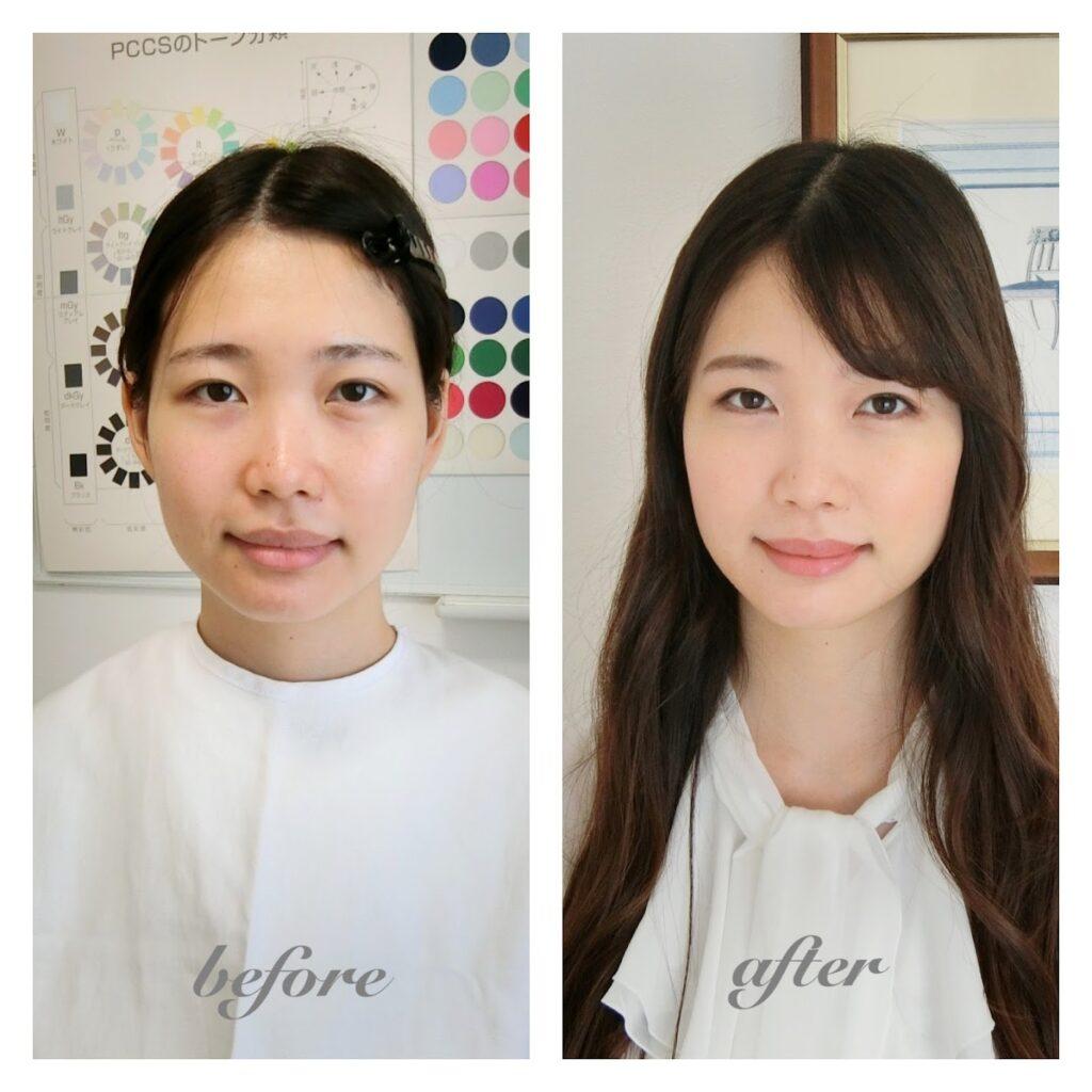 サロン・ド・ルミエール before&after