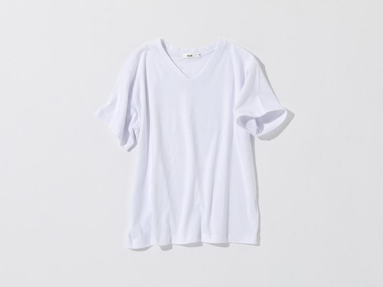 骨格診断ストレートタイプにお似合いのTシャツ